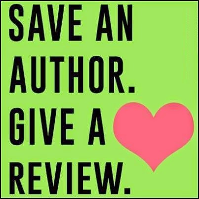 Save an Author. Give a Review. <3
