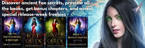 Get bonus chapters, the Fae Encyclopedia & Bestiary, and more when you sign up