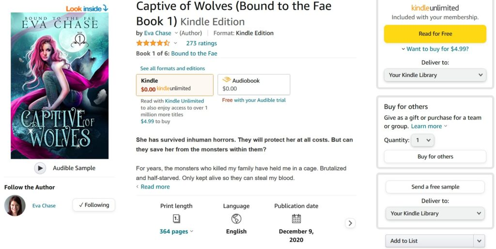 Book page on Amazon does NOT show a review link anywhere above the fold