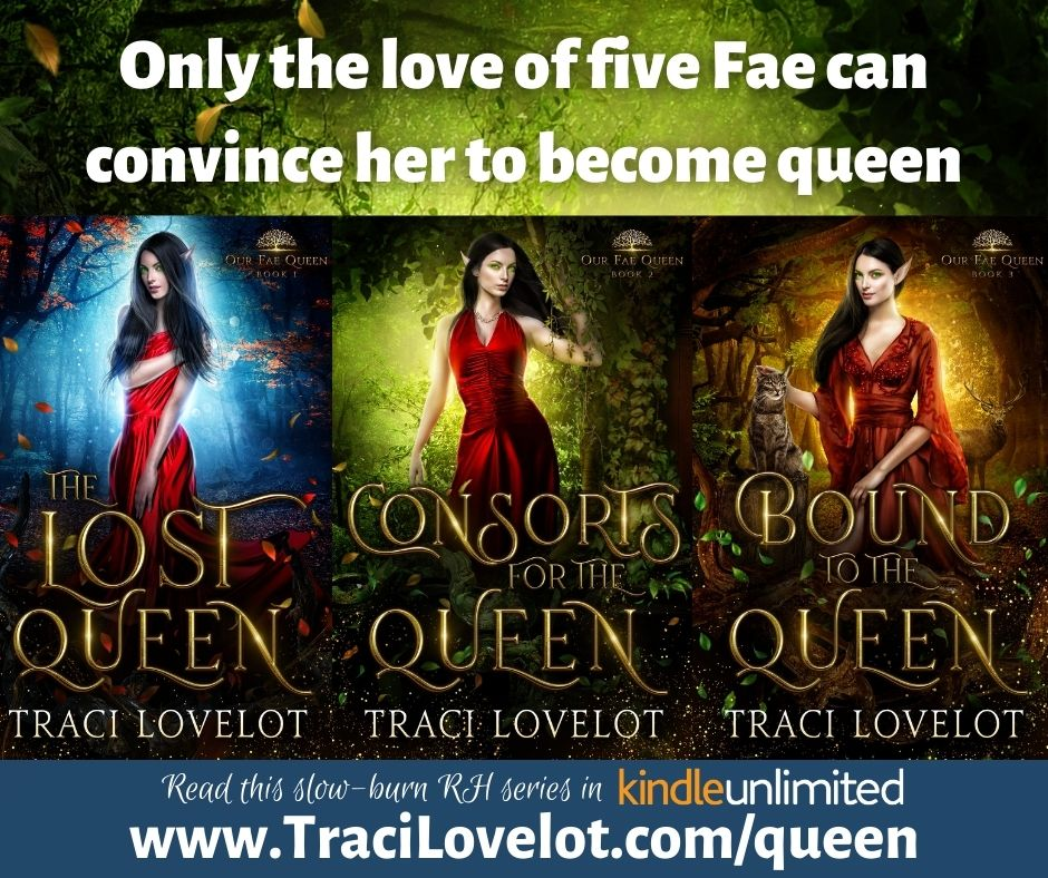 Only the love of five fae can convince her to become queen